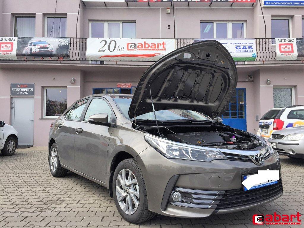 Corolla E170 1.6 Valvematic Instalacja gazowa Vialle Liquid Si